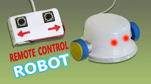 Things To Make At Home by How To Make A Remote Controlled Robot Basic Electronic Youtube