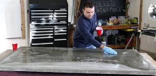 diy concrete dining table diy concrete dining table diy pete