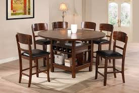 high top round kitchen table options for a round kitchen table and chairs the fabulous home ideas