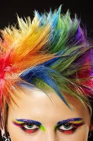 rainbow color hair ideas short rainbow hair color hair colors ideas