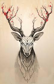 25 unique deer art ideas on pinterest deer drawing deer and