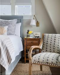 Beach Cottage Bedroom by Rhode Island Beach Cottage With Coastal Interiors