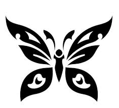 photo collection butterfly tribal tattoo designs