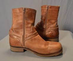 bullboxer motorcycle harness leather riding shoes boots men 11