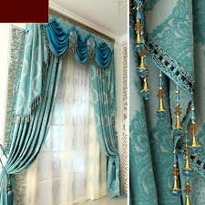 teal blue curtains bedrooms luxury living room curtains and drapes in ba blue color teal classic