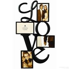 burnes photo albums l o v e wall words copper wire 4 opening collage by burnes