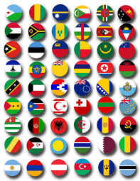 Flag Circle World Flags Printable Collage Sheets 203 Countries Printable