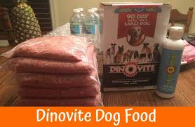 dino vite dinovite dog food an all supplement to improve your pet s