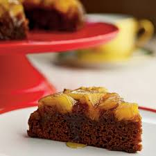 pineapple upside down gingerbread cake recipe myrecipes