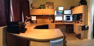 computer desk for 2 monitors dual computer desk altared co