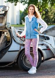 Marty Mcfly Halloween Costume Future Jennifer Parker Costume