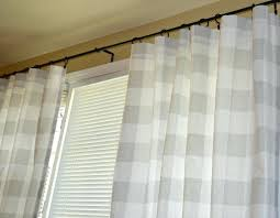 Black And White Checkered Curtains Zoom Black And White Checkered Curtains For Kitchen Black And