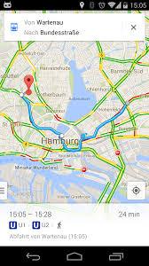 Googlle Maps Google Maps Zeigt Jetzt Alle Verbindungen Des Hamburger Hvv An