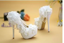princess wedding shoes thin high heels wedding shoes for white pink tg395 flowers
