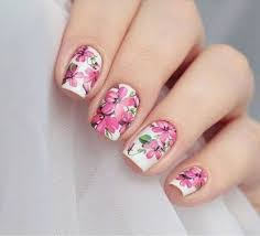stunning 43 cute and easy floral nail arts design from https www