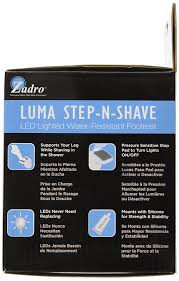 Devices That Make Life Easier Amazon Com Zadro Led Lighted Luma Step N Shave Foot Rest Grey