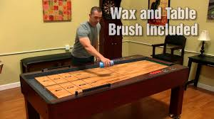 ricochet shuffleboard table for sale ricochet bounce back shuffleboard table youtube