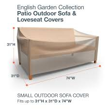 Patio Table Cover Rectangle by Budge English Garden Patio Sofa Covers Durable And Waterproof