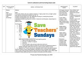 division chunking lesson plan by kittycat3 teaching resources