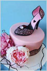 high heel cake topper high heel shoe cake topper and sugar diamond brooch class flickr