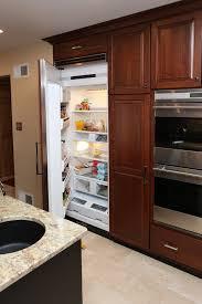 Kitchen Cabinet Refrigerator Clever Ways To Hide The Kitchen Appliances