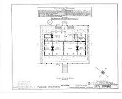 house plan floor plans parlange plantation house new roads