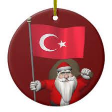 santa claus turkey ornaments keepsake ornaments zazzle