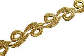 gold lace ribbon galia ribbon