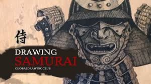 drawing samurai youtube