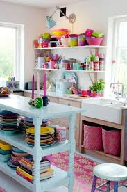 colorful kitchen ideas for the ones that seek for something different