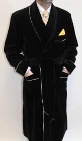 robe de chambre pour homme robe de chambre pour homme en velours de coton doublure entiere en