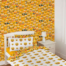 emoji wallpaper childrens bedroom wall decor feature wall new