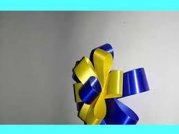 cara membuat bunga dari kertas pita jepang cara membuat bunga pita dari pita jepang youtube