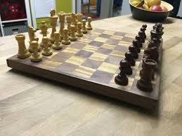diy wooden chessboard youtube
