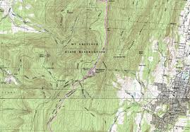 Appalachian Trail Massachusetts Map by Cheshire To Ma 2