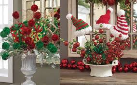 adorable decorating ideas for christmas with red green ball and