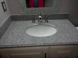 Gray Vanity Top Foremost 31 In W Granite Vanity Top In Rushmore Grey With