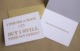 bridesmaid asking cards wedding asking my lovely bridesmaids as a yank in