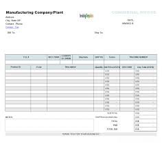 proforma invoice format office excel template
