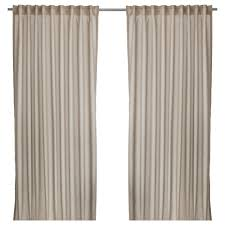 Tree Curtains Ikea Vivan Curtains 1 Pair Beige 145x250 Cm Ikea