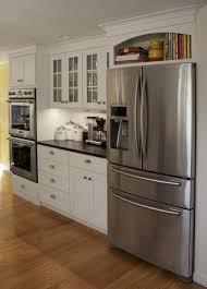 top of fridge storage kitchen cabinets around fridge dayri me
