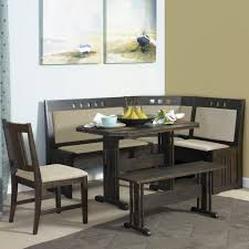 delightful dining table with banquette seating kitchen nook set