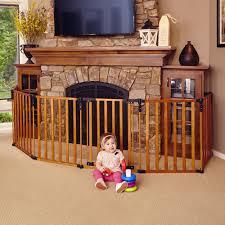 amazon com north states superyard 3 in 1 wood gate indoor