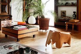 eames chair living room vitra eames elephant