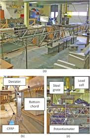 functionality of damaged steel truss systems strengthened with