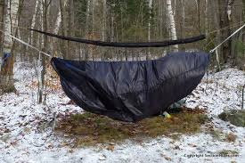 superior hammock insulated hammock review section hikers