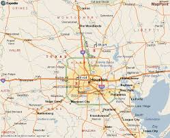map houston airports directions from houston bush airport iah to the offices of daw