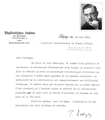 solvay institute archival letters frank lab