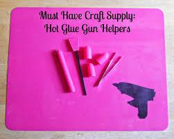 Crafters Supply Running With A Glue Gun Must Have Craft Supply Glue Gun Helpers