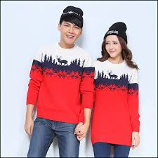 christmas hers 2 pieces matching christmas sweaters set for men women his